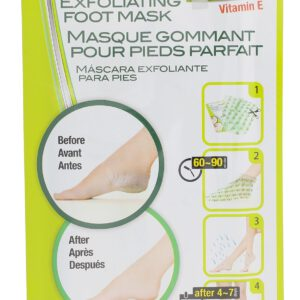 Absolute New York Exfoliating Foot Mask  2x20 ml W