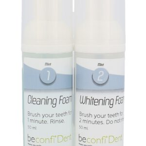 Beconfi Dent Teeth Whitening Dual Foam  2x50 ml U