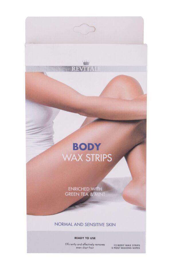 Revitale Wax Strips  12 szt W